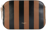 Nina Ricci striped clutch - women - Goat Skin - One Size
