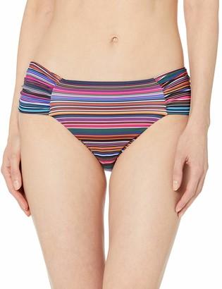 T Tahari Tahari Women's Side Tab Basic Full Coverage Bikini Bottom Swimsuit