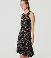 LOFT Cherry Flare Dress