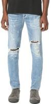 A Gold E AGOLDE Ferg Super Skinny H Town Jeans