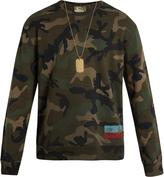Valentino Camouflage-print sweatshirt