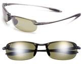 Maui Jim Women's 'Makaha' 64Mm Reading Sunglasses - Gloss Black