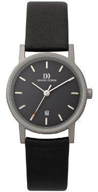Danish Design (ダニッシュ デザイン) - デンマークデザインiv13q171チタンケースブラックダイヤルレザーバンドLadie 's Watch
