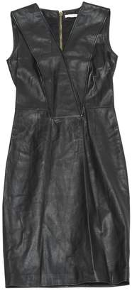 Givenchy \N Black Leather Dresses