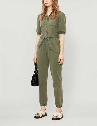 Paige Mayslie stretch cotton-blend jumpsuit