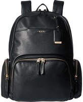 Tumi Voyageur Leather Calais Backpack Backpack Bags