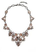 Jenny Packham Women's Crystal Drama Collar Necklace