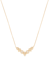 14K Yellow Gold & 0.20 Total Ct. Diamond Courtney Lauren Necklace