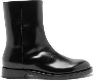 Vetements Leather Boots - Black