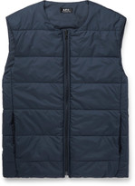A.p.c. - Steven Quilted Shell Gilet