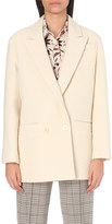 Sandro Pilou cotton and wool-blend jacket