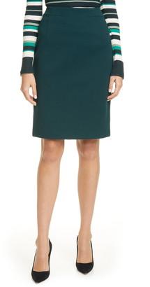 BOSS Vaxine Textured Pencil Skirt