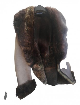 Fury Brown Faux fur Jacket for Women