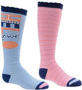 Stride Rite Girls' 2-Pack Hello Hanna Knee High Socks