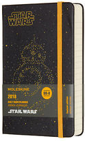 Moleskine NEW 2018 Pocket Star Wars BB-8 Daily Diary