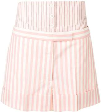 Thom Browne panelled tailored shorts