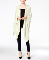 Echo Solid Open-Front Poncho