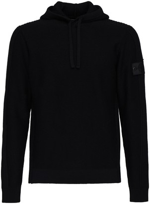 Stone Island Shadow Project Hooded Wool Knit Sweater