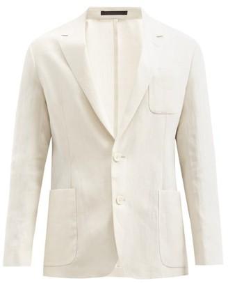 Paul Smith Single-breasted Linen Blazer - Beige