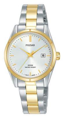 Pulsar Womens Analogue Quartz Watch with Stainless Steel Strap PH7474X1