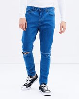 A Turn Up Jeans