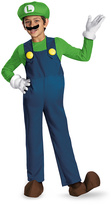 Disguise Green Luigi Deluxe Dress-Up Set - Boys