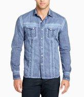 William Rast Oak Long-Sleeve Signature Denim Shirt