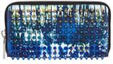 Christian Louboutin Panettone Tie-Dye Studded Wallet