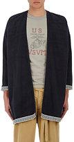 Visvim Men's Plain-Weave Kimono-Style Jacket
