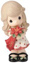 Precious Moments Wishing You A Beautiful Christmas 2016 Girl Figurine