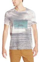 Calvin Klein Jeans Men's Beach Sublimation Crew Neck Tee