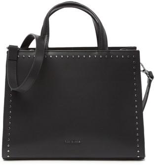Ted Baker Stephh Micro Studded Leather Shoulder Bag