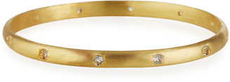 Dina Mackney Topaz Bangle Bracelet