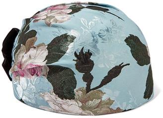 Erdem + Noel Stewart Doria Velvet-trimmed Jacquard Hat