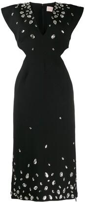 Christopher Kane Crystal Gem Dress