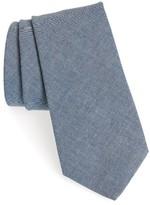 Michael Bastian Men's Chambray Cotton Tie