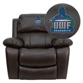 Flash Furniture West Florida Argonauts Embroidered Leather Rocker Recliner