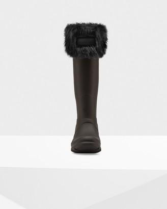 Hunter LtdHunter Original Faux Fur Cuff Boot Socks