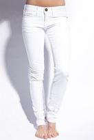 Current/Elliot - White stud skinny jean, White