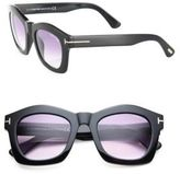 Tom Ford Greta 50MM Geometric Square Sunglasses