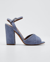Tabitha Simmons Kali Bis Suede Heeled Sandals