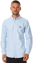 Stussy Oxford Drop Ls Mens Shirt Blue
