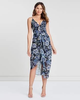 Cooper St Floral Fantasy Drape Dress