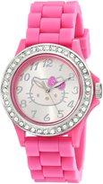 Hello Kitty Girl's HK2055J Analog Display Quartz Pink Watch