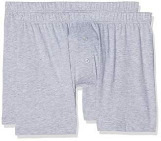 Trunks LVB Men's 100% Cotton Bipack Lp Trunks,S (Size:3) (Pack of 2