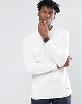 adidas Badlander Long Sleeve T-Shirt In White AY8537