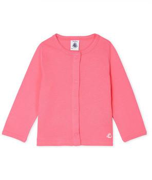 Petit Bateau FELINE girls's Cardigans in Pink