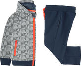 Mayoral Graphic sweatshirt and tracksuit pants