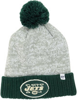 '47 New York Jets Coverage Knit Hat