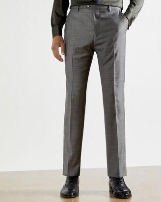 Ted Baker Debonair Sharkskin Wool Suit Trousers